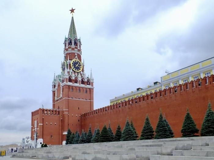 Спасская башня, Московский Кремль, Россия